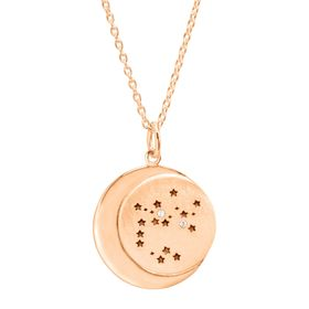 Sagittarius Constellation Pendant, Rose