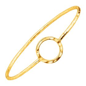 Karma Bangle Bracelet, Yellow