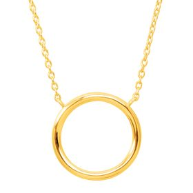 Karma Necklace, Yellow