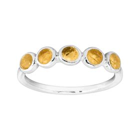November Celebration Collection Five-Stone Ring