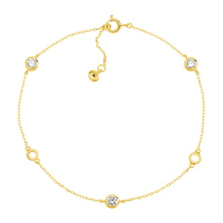 Clarity Serenity Anklet, Yellow