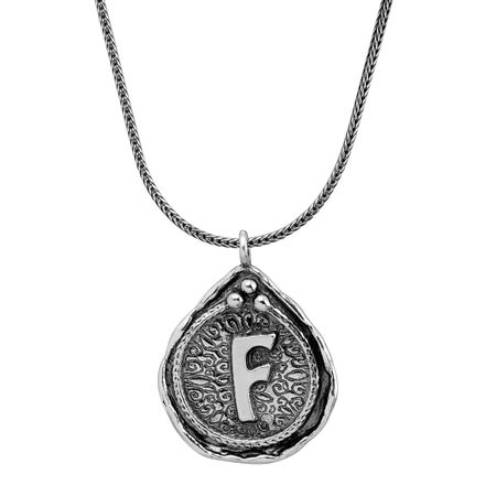 Namesake Collection 'F' Pendant