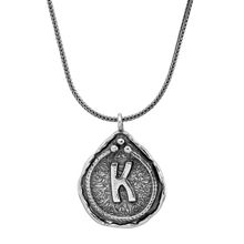 Silpada Namesake Collection D Initial Pendant Necklace in Sterling Silver