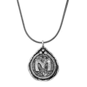 Namesake Collection 'M' Pendant
