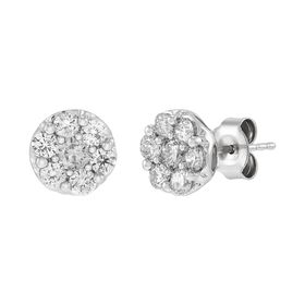 1 ct Lab Diamond Stud Earrings