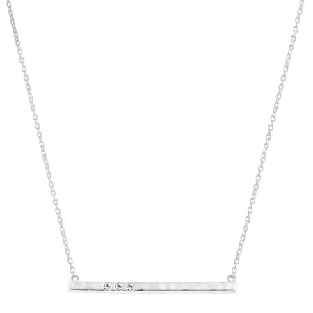 Dotted Line Necklace