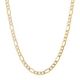 Figaro Link Chain Necklace, 22""