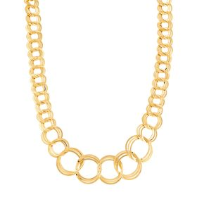 Multi-Circle Link Necklace