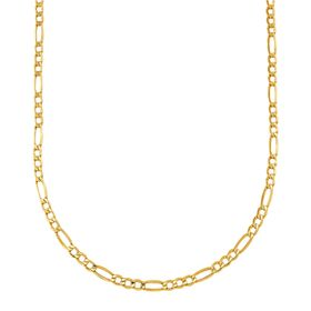 3.90 mm Classic Figaro Chain Necklace