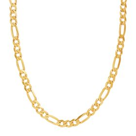 Men's 6.5 mm Figaro Chain Necklace