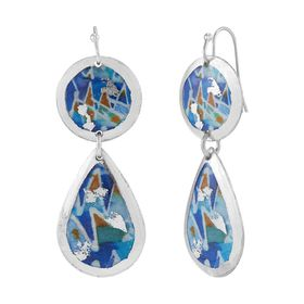 Fiesta Azul Drop Earrings