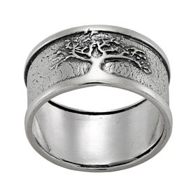 Tree of Life Band Ring