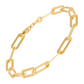 Golden Oval Bracelet