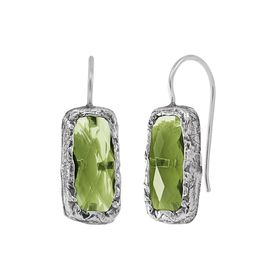 Zircon Token Earrings