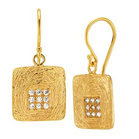 Embers of Gold Earrings