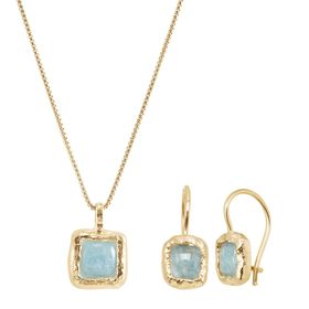Mediterra Earrings & Necklace Set