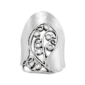 Lace Shield Ring