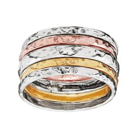 Satin Senses Rings