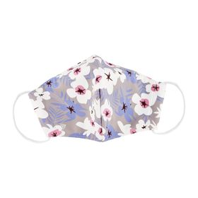 Flower Blossoms Print Face Mask