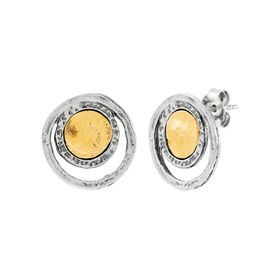 Metropolitan Circle Earrings