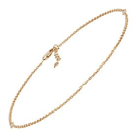 1/10 ct Diamond Classic Anklet