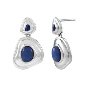 The Warped Blues Earrings