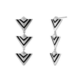 Signature Arrow Collection: Good Vibes Spiked Drop Earrings
