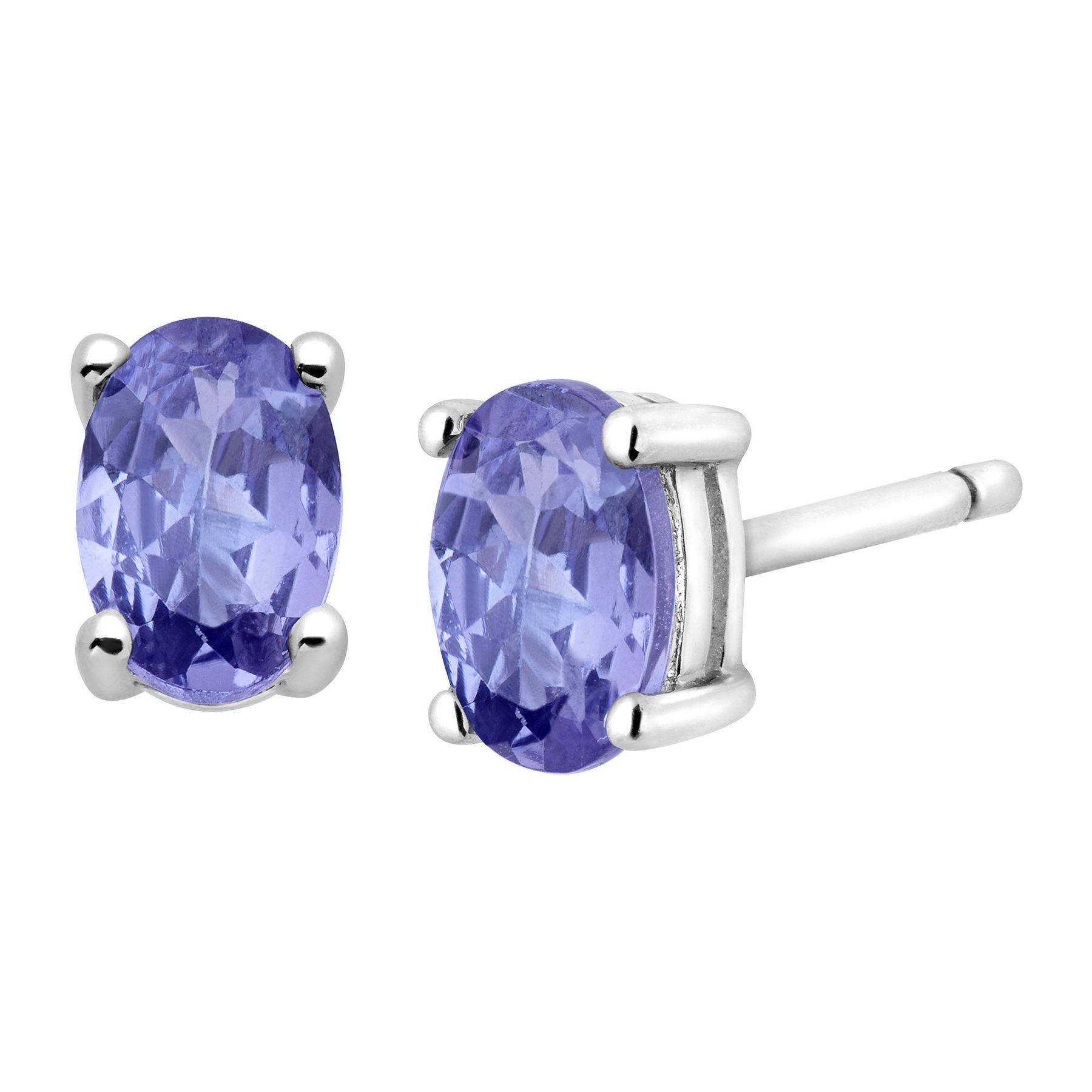 oval cut certified natural mm pair blue pin violet gemstones cts tanzanite