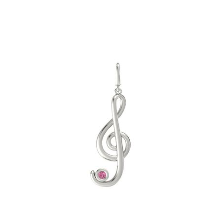 Treble Note Gem Charm