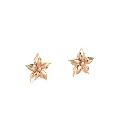 Star Flower Earrings