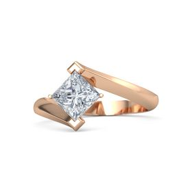 Princess Diamond 14K Rose Gold Ring