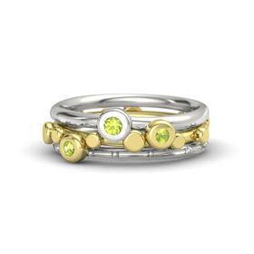 14K Yellow Gold Ring with Peridot