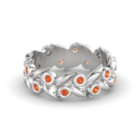 Orange Blossom Wreath Ring