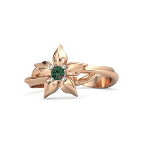 14K Rose Gold Ring with Alexandrite