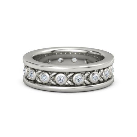 s platinum ring with olive wreath band gemvara