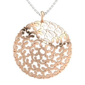 18K Rose Gold Pendant