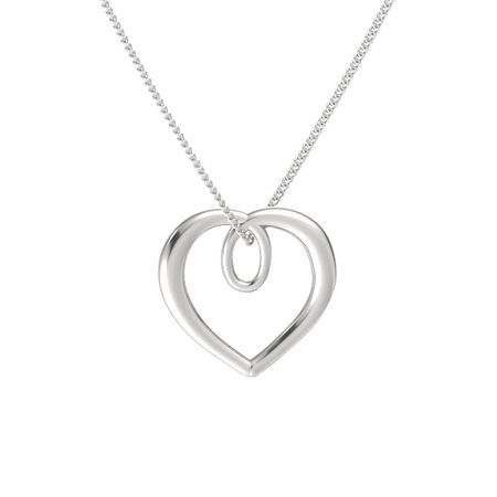 Infinite Heart Pendant