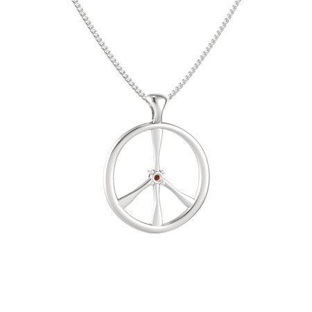 Brilliant Peace Pendant
