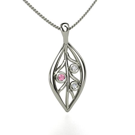Open Leaf Necklace