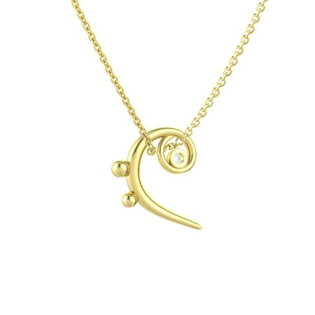 Bass Clef Necklace