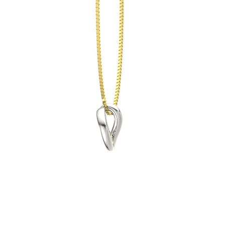 Chain Rhodolite Garnet Gemstone Pink Letter B Dainty Sterling Silver Pendant