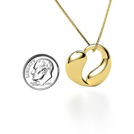 20mm You and Me Pendant