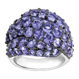 6 1/2 ct Tanzanite Dome Ring