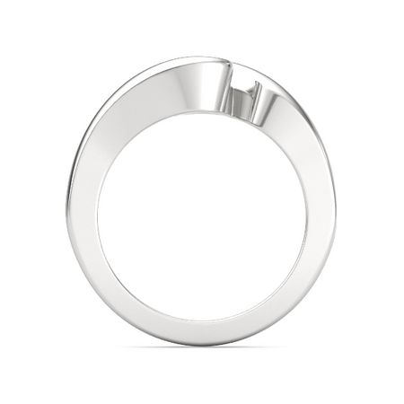 Sterling Silver Rose Embrace Ring