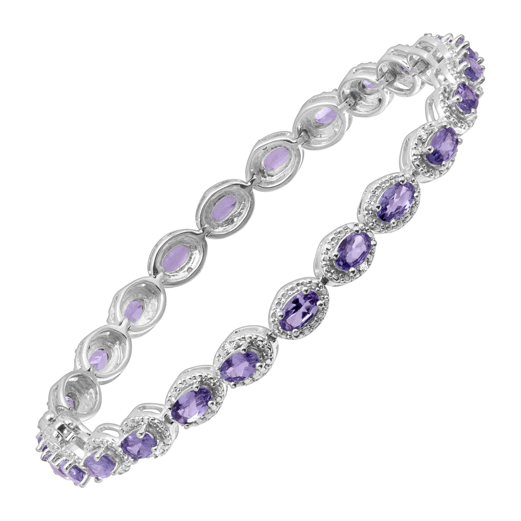 paspaley zoom amethyst rockpool bracelet products south tanzanite pearl sea