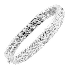1/4 ct Diamond 'S' Link Tennis Bracelet
