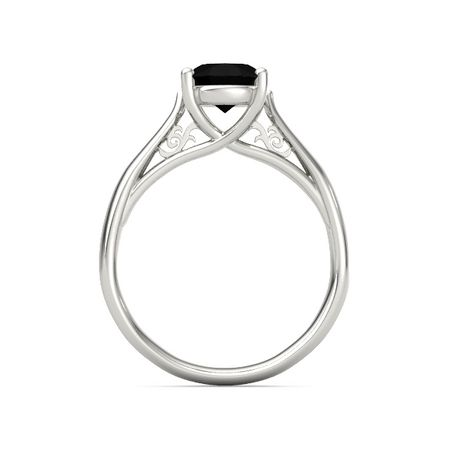 Oval Trellis Solitaire Ring