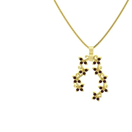 Flowering Vine Pendant