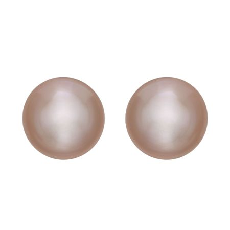 9-10 mm Pink Pearl Stud Earrings