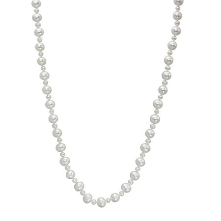 113504aed Honora 4.5-9.5 mm Freshwater Pearl Mixed Strand in Sterling Silver ...